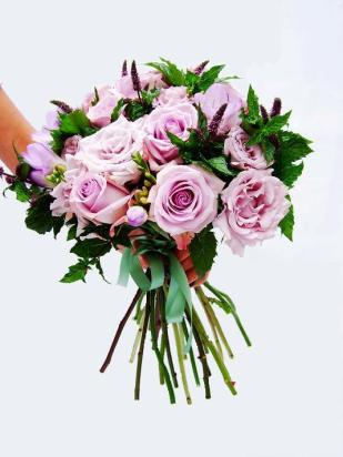 Purple wedding BQ