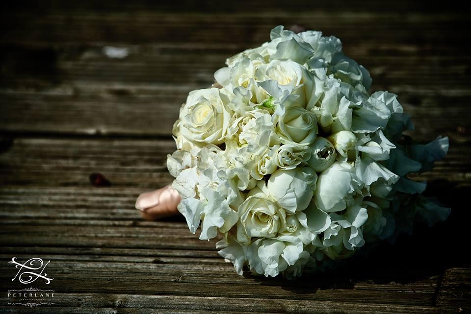 white bridal bouquet your london florist