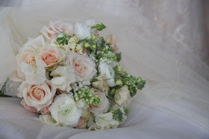 vintage wedding bouquet by Your London Florist