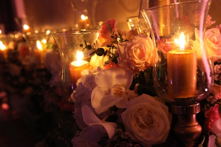 orchids in candelabra arrangements by Your London Florist