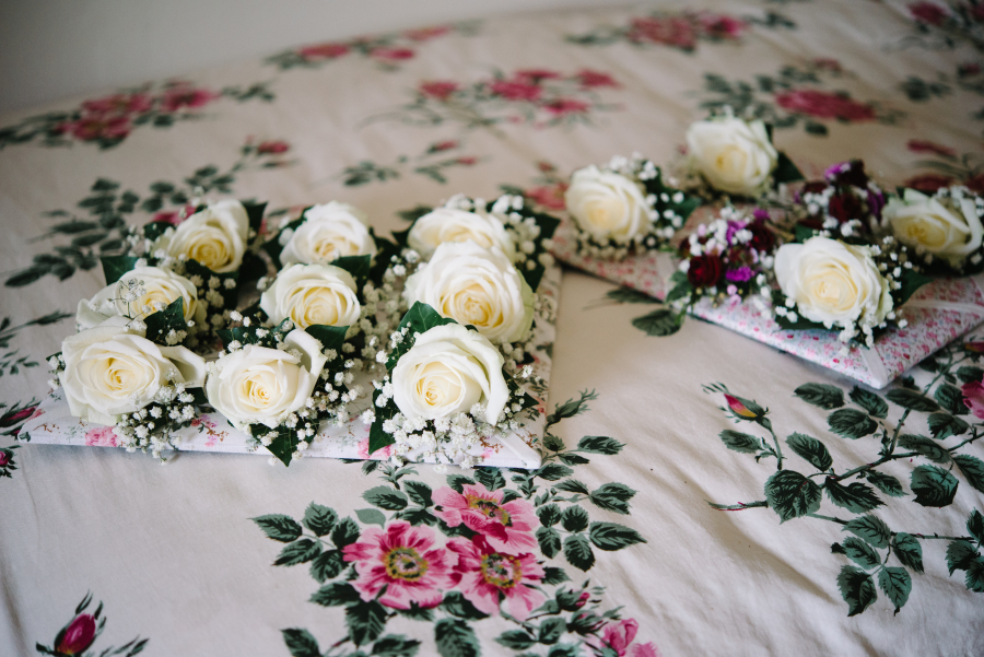 rose buttonholes by Your London Florist