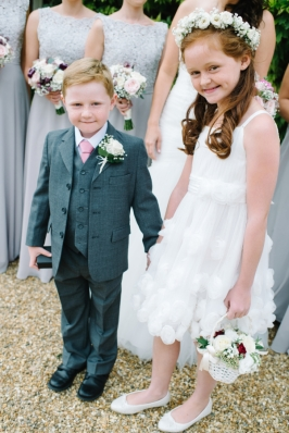 flower girl and page boy flowers by Your London Florist