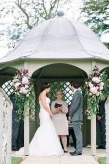 gazebo flowers by Your London Florist