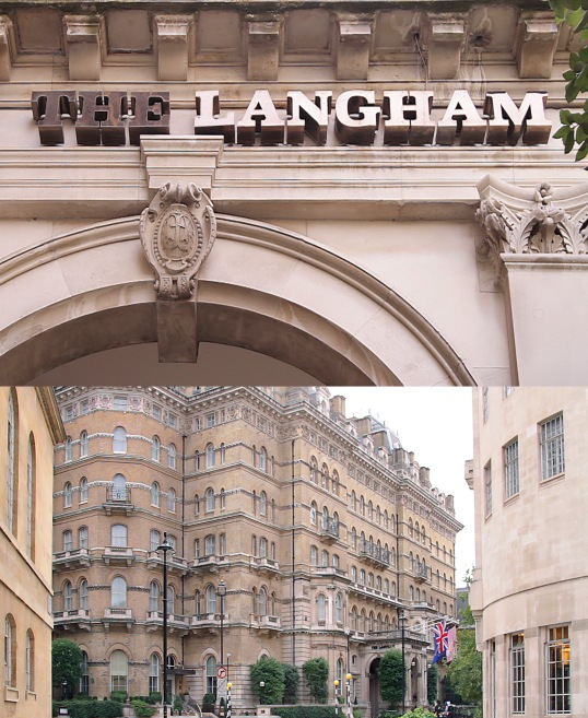 the langham hotel wedding by Your London Florist