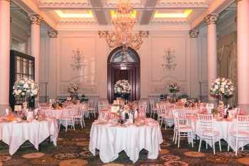 langham hotel wedding flowers by Your London Florist