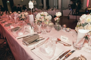wedding top table flowers by Your London Florist