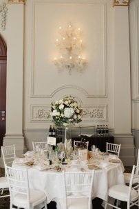 tall wedding flowers centerpieces by Your London Florist