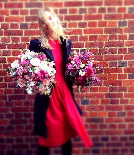 pink flower bouquet delivery