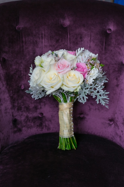 "Brides rose bouquet by ""Your London Florist"""