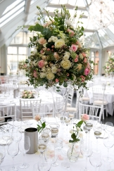 tall table flower centrepiece